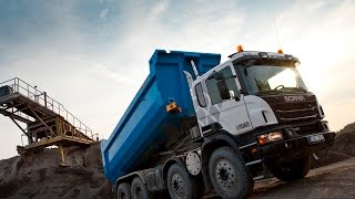 Самосвал Scania G480