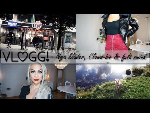 Nya kläder, Clown-bio och fult smink   VLOGG