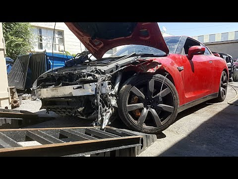 Totaled Nissan GT-R Rebuild - Part 2
