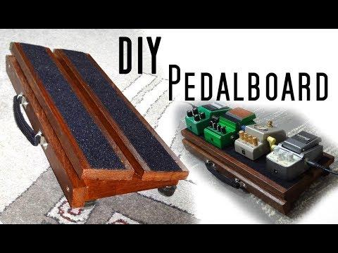 making a DIY Pedalboard