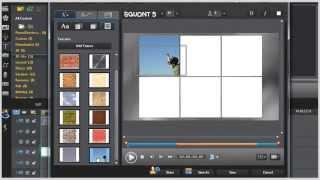 Six 3D Image Cubes Effect - PowerDirector10/11 Tutorial
