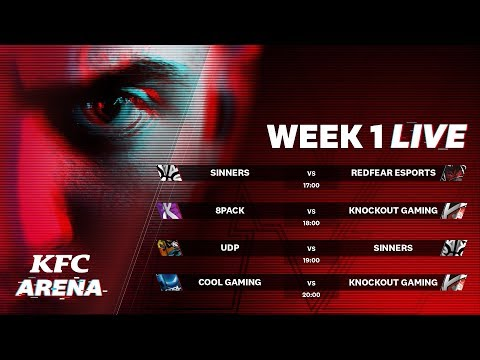 KFC Arena |  SinnerS Vs RedFear ESports | 8Pack Vs Knockout Gaming