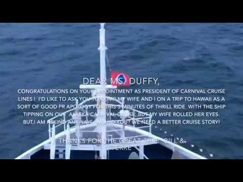 Carnival Legend Alaska Cruise Listing August 29, 2016