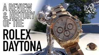 The Greatest Luxury Racing Watch Ever Made - Rolex Daytona Review & History