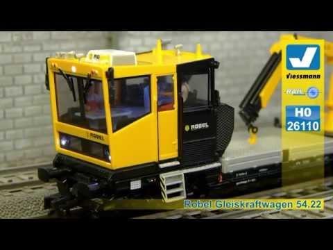 "Viessmann 26110 HO ""ROBEL"" Track Maintenance Vehicle"