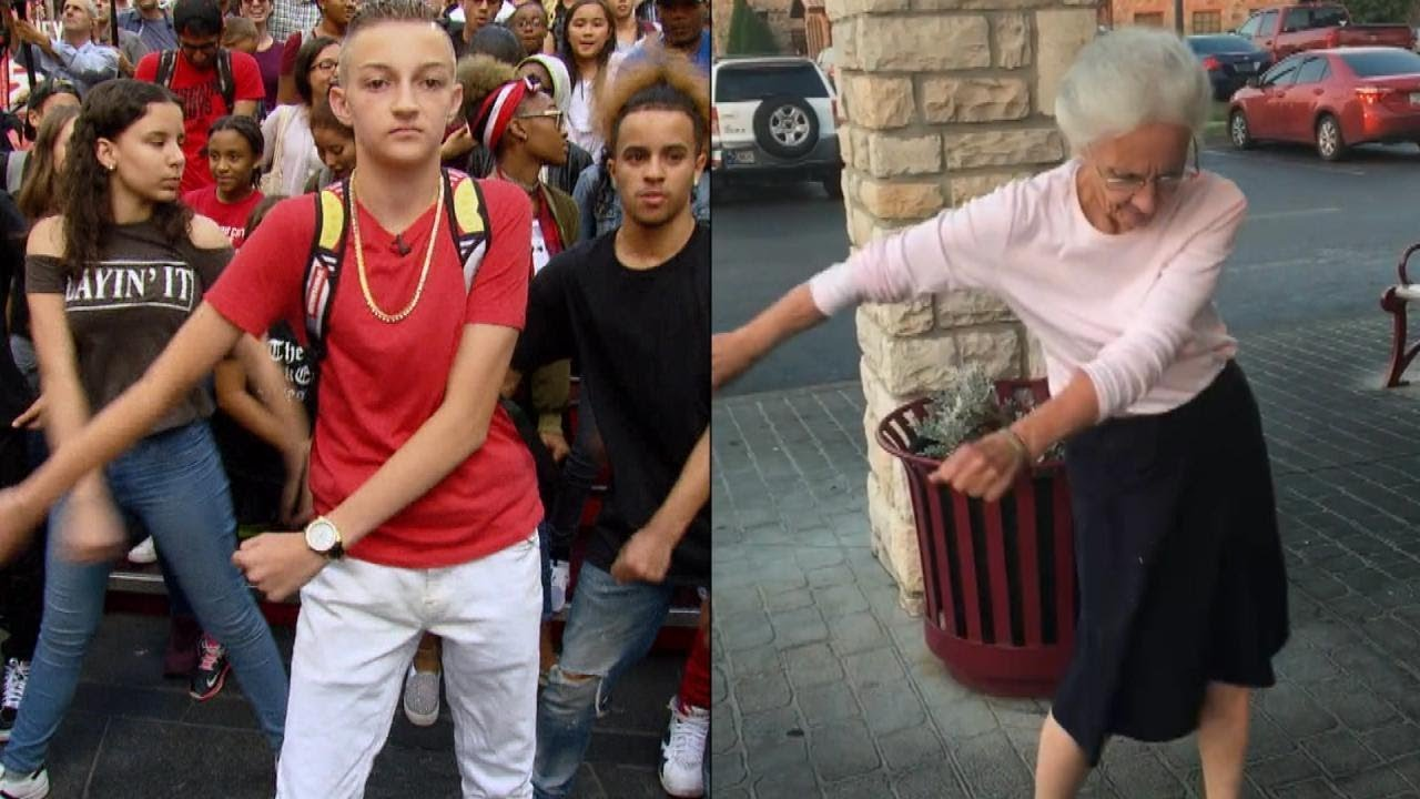 Old Granny Young Boy Porn Tube 70-year-old grandma tries the 'backpack kid' dance