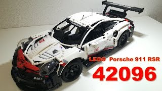 ※2019technic sets※LEGO Porsche 911 RSR 42096 review NEW レゴ ポルシェ テクニック