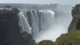 Four minutes at Mosi-oa-Tunya (also known as Victoria Falls)