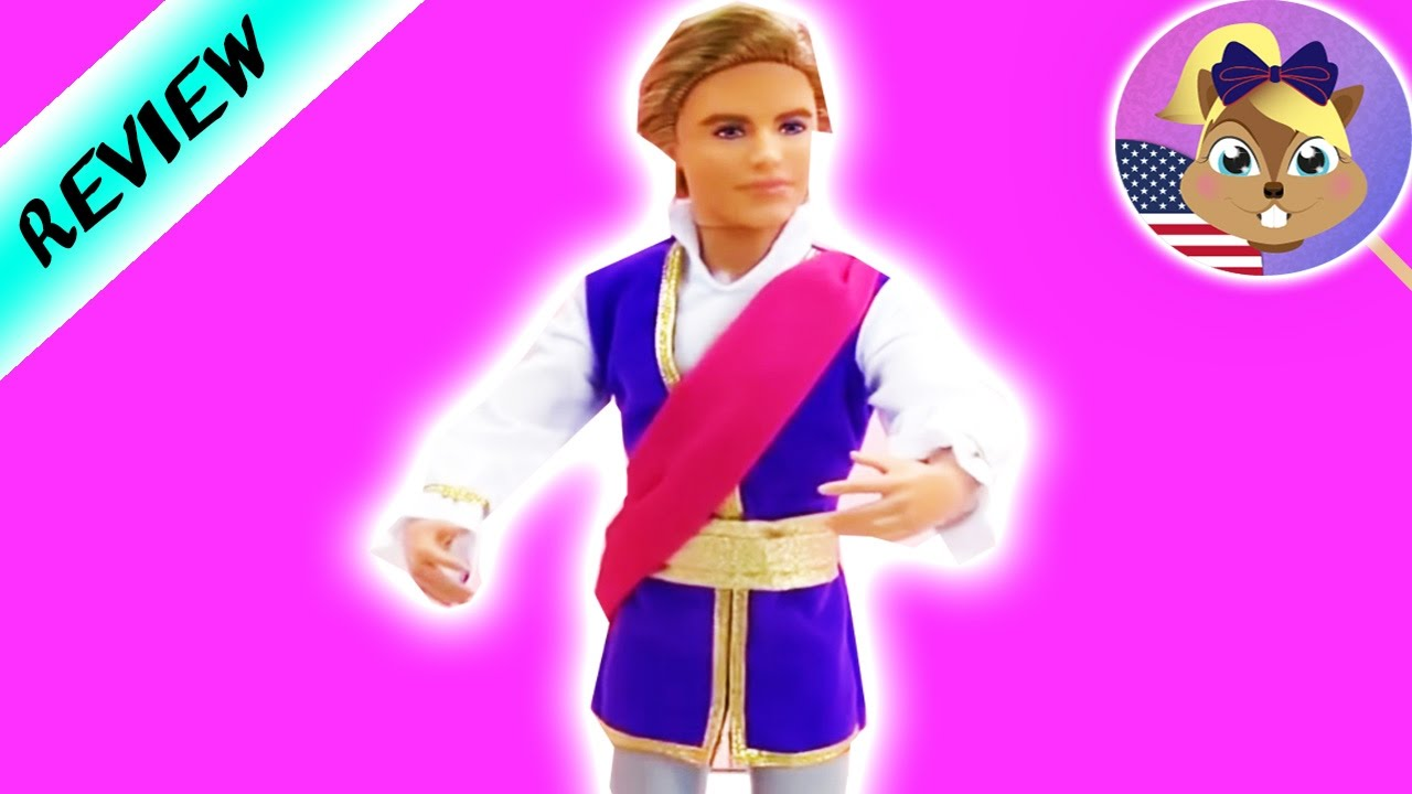 Barbie in The Pink Shoes Ken Doll as Prince Siegfried NEW for 2013