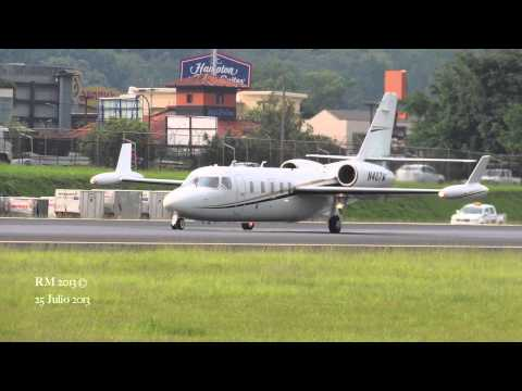 Westwind II MROC Despegue Rwy 25