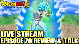 Dragon Ball Super Episode 70 Review & Talk LIVE STREAM! Champas Challenge! Face Off in Baseball