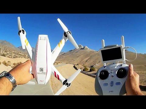 JYU Hornet S High Speed GPS FPV Explorer Drone Flight Test Review