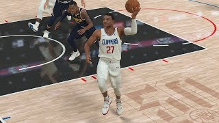 NBA 2K20 My Career EP 52 - No Look Lob Pass!