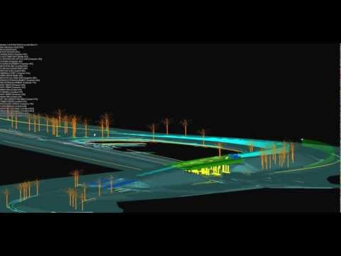 Civil infrastructure project simulation