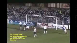 Ballymena United vs. Linfield County Antrim Shield Final 2006