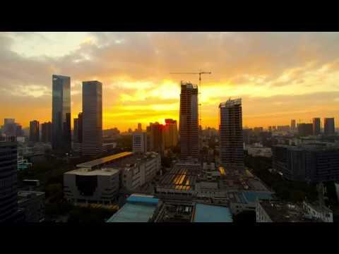 Shenzhen Nanshan District Sundown Timelapse