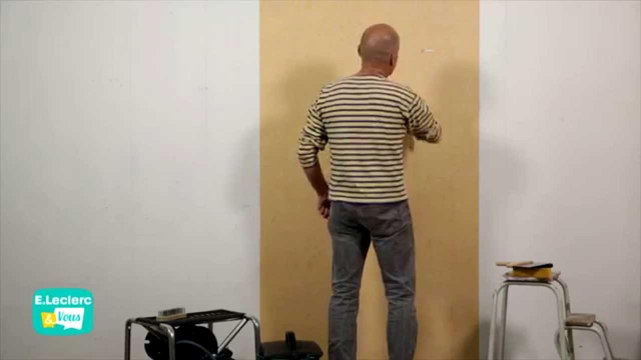 c 39 votre maison d coller du papier peint youtube. Black Bedroom Furniture Sets. Home Design Ideas