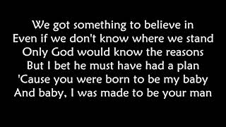 Bon Jovi - Born to be my baby LYRICS   Ohnonie (HQ)