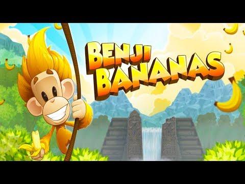 Benji Bananas Gameplay And Full Upgraded
