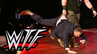 WWE RAW WTF Moments | Braun Strowman Scares Kevin Dunn Toothless And Lifts A Truck With His Arms