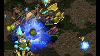 Jaedong (Z) v Pure (P) on Fighting Spirit  - StarCraft  - Brood War REMASTERED