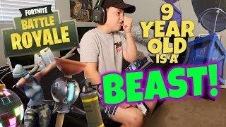 Fortnite Battle Royale 9 Year Old Boy Is A Beast (Rocco Piazza)