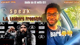 SPEAK L.A. LEAKERS FREESTYLE {SOUL REACTION}
