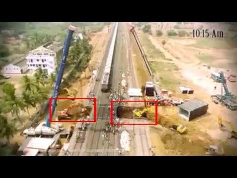 RECORD VIDEO : 5 గంటల్లో సబ్ వే నిర్మించిన రైల్వే..Indian Railways Builds A Subway Crossing In 5hrs
