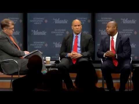 Senators Cory Booker and Tim Scott / Rethinking Economic Renewal