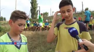 Fotbalistii joaca Oina, tabara Prietenia Cosnita Dubasari