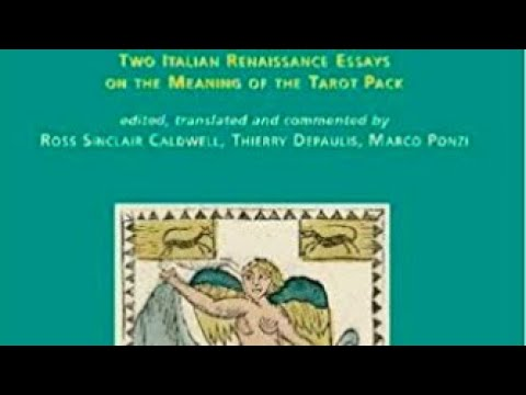 136. Book: Explaining the Tarot. Two Italian Renaissance Essays on The Meaning of The Tarot Pack