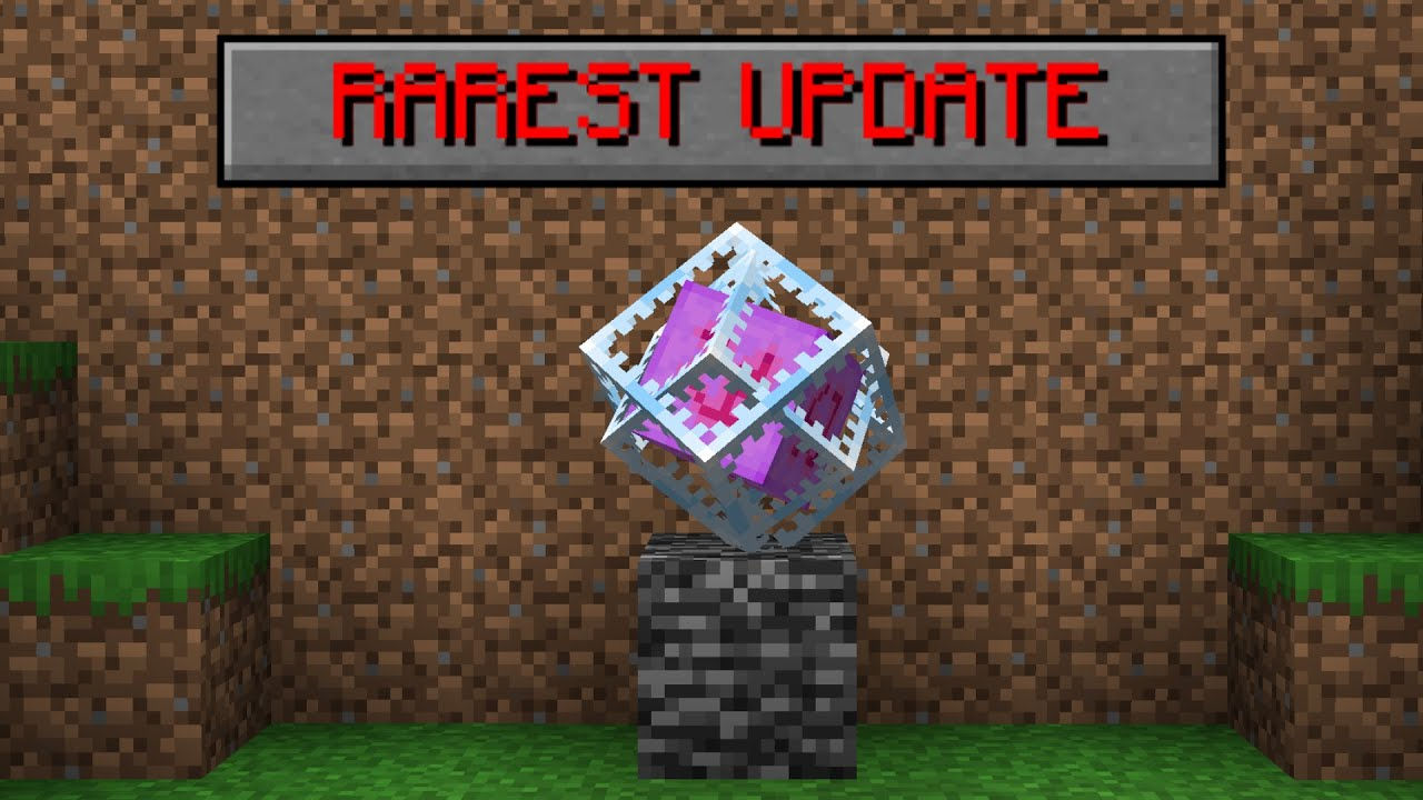 Download Minecraft's MOST important update...