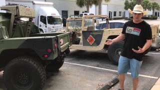 1992-93 AM General Humvee Build out with A/C TEST Drive 0-60!
