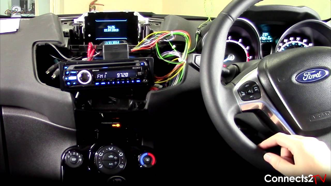 Ford Fiesta Stereo Upgrade