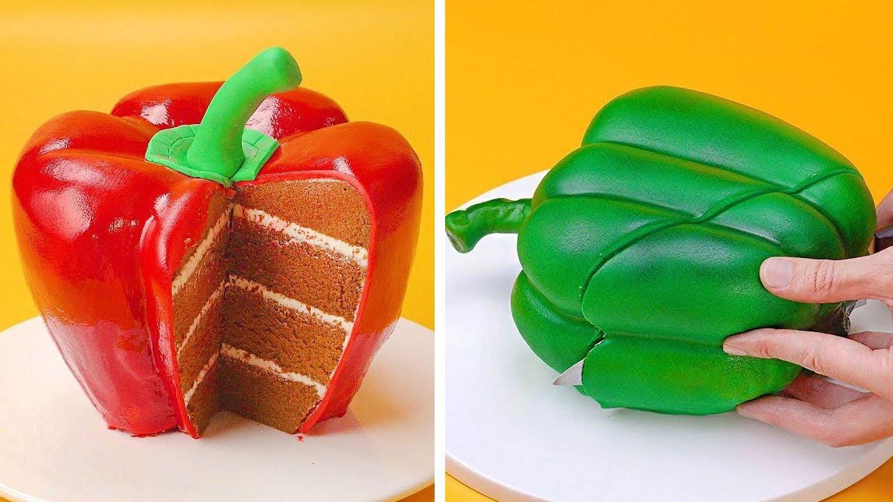 Top Fondant Fruit Cake Compilation | Easy Cake Decorating Ideas | So Tasty Cakes Recipes #5