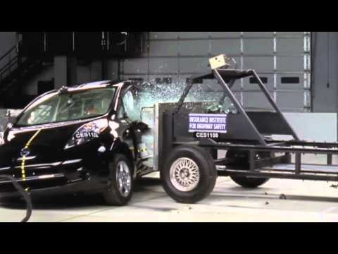 CRASH TEST Nissan Leaf 2011