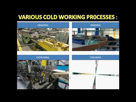 1) HOT AND COLD WORKING PROCESS - Concept with examples     Hindi - Advantages & Disadvantages