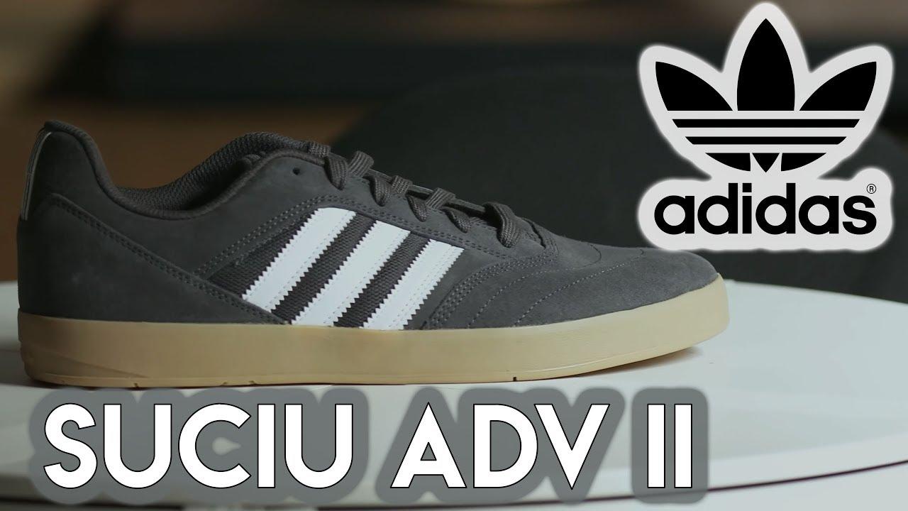 Adidas Suciu Adv II Skate Shoes - YouTube