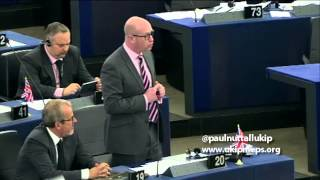 An old, tired and out of date European Union - Paul Nuttall MEP