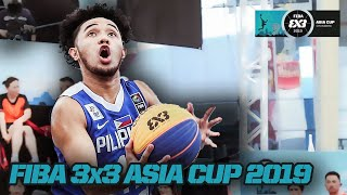 Philippines hit their stride in decisive win over Samoa! | Men's Full Game | FIBA 3x3 Asia Cup 2019