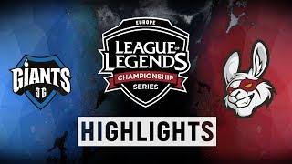 GIA vs. MSF - EU LCS Week 4 Day 1 Match Highlights (Spring 2018)