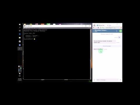 Video Tutorials for Telegram Gateway