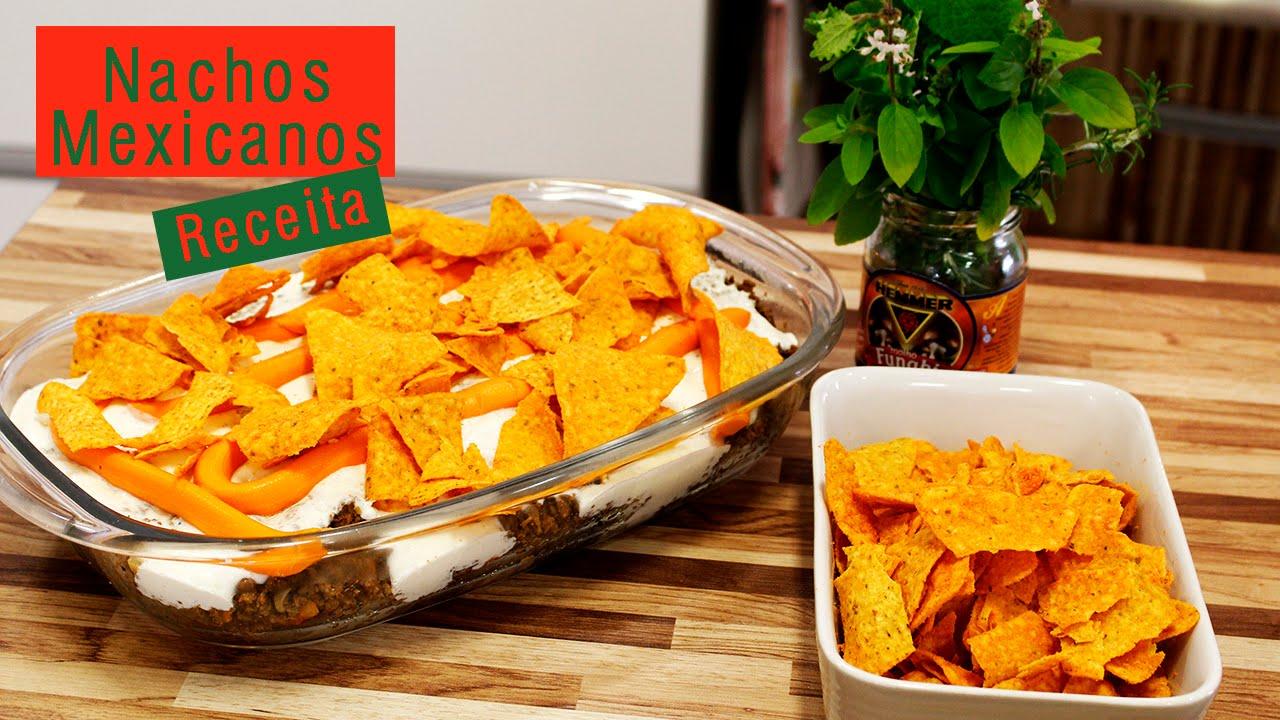 Nachos Mexicanos por Virgínia Gaya - YouTube