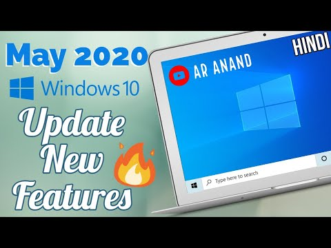 Windows 10 May 2020 Update 🔥 All New Best Features  [Hindi]