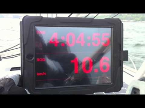 Marine Instrument Display WiFi for iPhone/iPad (MID WiFi) - Sailing