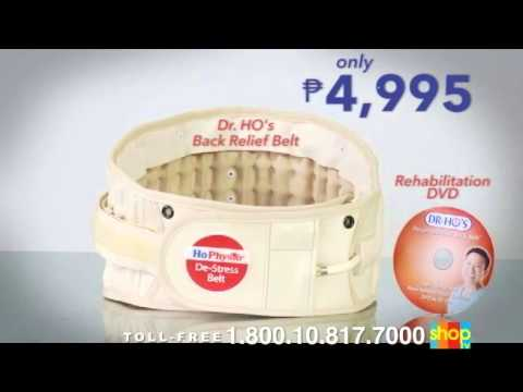 Dr. Ho Decompression Back Belt Review - Infomercial Review