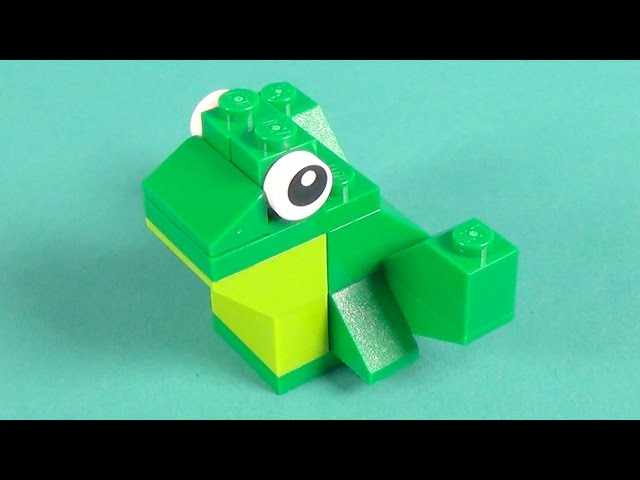 Lego Frog Building Instructions - Lego Classic 10698