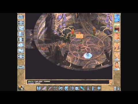 Baldur's Gate II - Part 67- Getting owned by Mind Flayers (HD) |