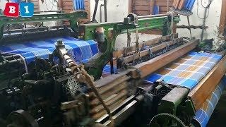 lungi making process in power loom lungi manufacturing | lungi whole sale |