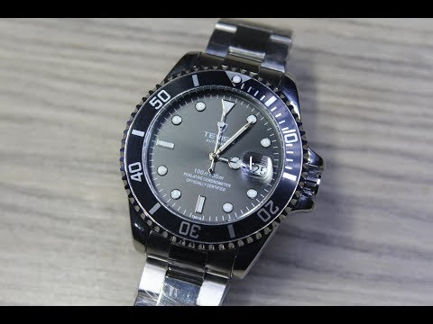 Tevise-特威斯水鬼機械手錶(送錶帶剪裁器)